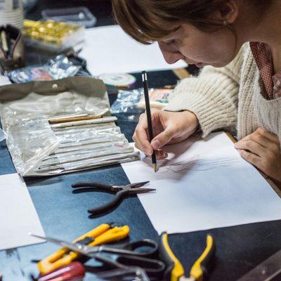 Criação e confecção de Bonecos em Miniatura - foto: Fábio Zambom